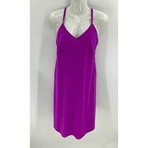 Athleta racer back dress with built-in bra